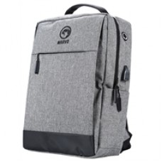 Marvo Waterproof Laptop Backpack with USB Port Grey