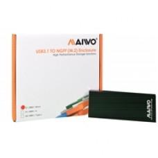 Maiwo USB 3.1 SATA M.2 SSD Enclosure Black
