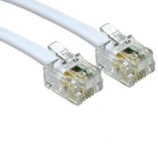 RJ11 (M) to RJ11 (M) 3m White OEM Cable