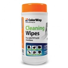 ColorWay Cleaning Wipes for LCD and TFT Screens 100 sheets