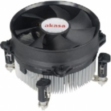 Akasa AK-CCE-7104EP Intel Socket 92mm PWM 3000RPM Black Fan CPU Cooler