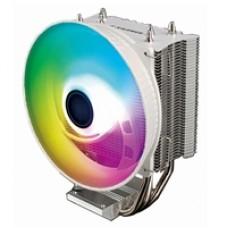 Xilence M403PRO.ARGB White Universal Socket 120mm PWM 1800RPM Addressable RGB LED Fan CPU Cooler