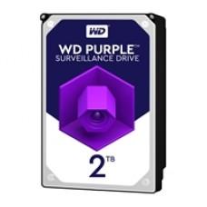 """WD Purple WD20PURZ 2TB 3.5"""" 5400RPM 64MB Cache SATA III Surveillance Internal Hard Drive"""