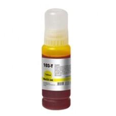 InkLab 103 Epson Compatible EcoTank Yellow ink bottle