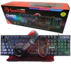Marvo Scorpion CM409 4-in-1 Advanced Gaming Combo Starter Kit