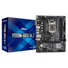 ASRock H510M-HDV/M.2 Intel Socket 1200 Micro ATX HDMI/DVI-D/VGA M.2 USB 3.2 Gen1 Motherboard