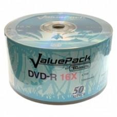 Ritek Traxdata DVD-R 16X 50PK Logo