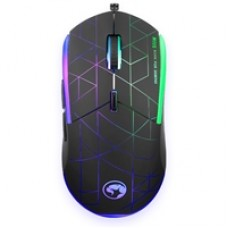 Marvo Scorpion M115 Gaming Mouse, USB 2.0, 7 LED Colours, Adjustable up to 4000 DPI, Gaming Grade Optical Sensor with 6 Programmable Buttons