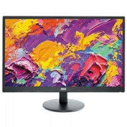 """AOC M2470SWH 23.6"""" WLED D-Sub/HDMI Monitor with Speakers"""