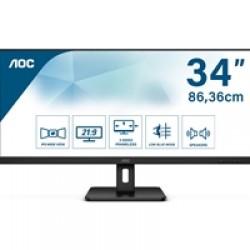 "AOC Q34E2A 34"" 75Hz 4ms IPS Widescreen Full HD HDMI/DisplayPort Monitor"