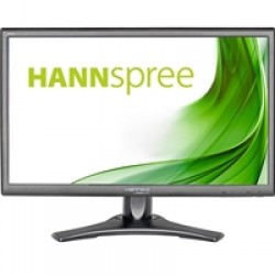 "Hannspree HP225PJBRSW 21.5""  Display Port / HDMI / VGA Speakers  Height Adjust Black Monitor"
