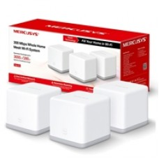 Mercusys Halo S3 (3 Pack) Wireless N300 Whole Home Mesh Wi-Fi System