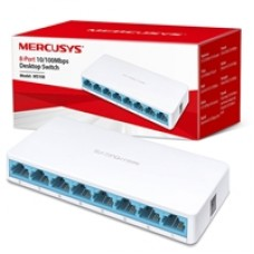 Mercusys MS108 8 Port 10/100 Fast Ethernet Network Switch