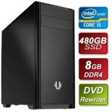Intel i5-9400 Six Core 2.9GHz 8GB DDR4 RAM 480GB SSD DVDRW Prebuilt System
