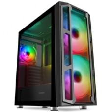 GameMax F15 RGB Intel i5 10600K 6 Core 3.6GHz 32GB RAM 250GB SSD + 2TB HDD RTX3060Ti 8GB Graphic Card w Windows 10 Home + FREE Marvo 4-in-1 Kit - Prebuilt System
