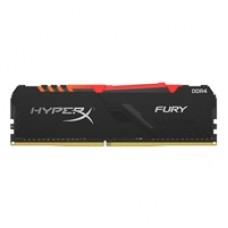 Kingston HyperX Fury RGB 8GB Black Heatsink (1x8GB) DDR4 2666MHz DIMM System Memory