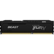 Kingston FURY Beast 8GB 1600MHz DDR3 DIMM Black Heatsink