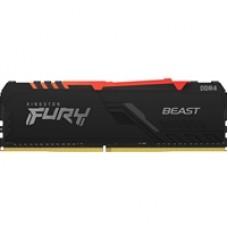 Kingston FURY Beast RGB 8GB 2666MHz DDR4 DIMM System Memory