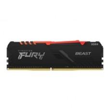 Kingston Fury Beast 64GB 3200MHz (2 x 32Gb) DDR4 CL16 DIMM RGB System Memory