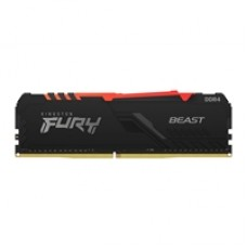 Kingston Fury Beast 16GB 3200MHz (2 x 8Gb) DDR4 CL16 DIMM (Kit of 2) RGB System Memory
