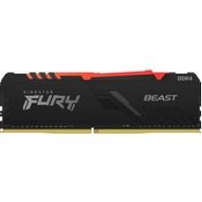 Kingston FURY Beast 32GB 3000MHz (2x16GB) DDR4 CL15 DIMM RGB System Memory
