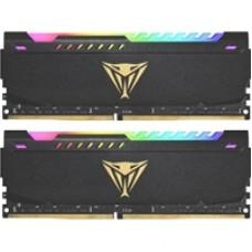 Patriot Viper Steel RGB 32GB Black Heatsink (2 x 16GB) DDR4 3200MHz DIMM System Memory