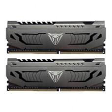 Patriot Viper Steel DDR4 32GB (2 x 16GB) 3200MHz Kit w/Gunmetal Grey heatshield