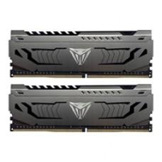 Patriot Viper Steel DDR4 16GB (2 x 8GB) 3200MHz Kit w/Gunmetal Grey heatshield