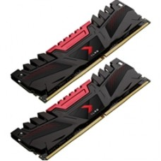 PNY XLR8 16GB (2 x 8GB) DDR4 2666MHz DIMM Red / Black Gaming Memory