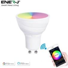 ENER-J Smart WiFi 5W GU10 LED Spotlight Bulb