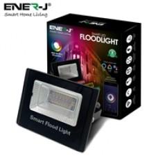 ENER-J WiFi Smart RGB+W+WW 16W LED Floodlight, IP65