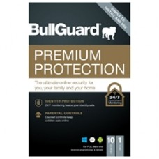 Bullguard Premium Protection 2021 1 Year/10 Device 10 Pack Multi Device Retail Licence English